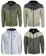 Jack Jones Hoodie Mens Full Zip Sweatshirt Long Sleeve Casual Tops S,M,L,XL,2XL