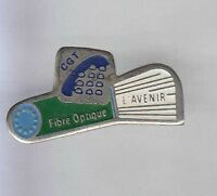 RARE PINS PIN'S .. PTT LA POSTE FRANCE TELECOM SYNDICAT CGT CABLE~7B