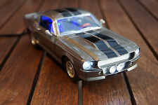 1967 FORD MUSTANG GT 500 SHELBY ELEANOR IN 1:24 SILBER NICHT 1:18