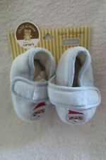 Child of Mine Baby slippers Newborn Blue Santa New