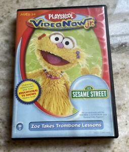 Playskool VideoNow jr Sesame Street Zoe Takes Trombone Lessons Volume SS2