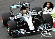 Lewis Hamilton Poster #305 - F1 - Signed (copy) - A3 Poster