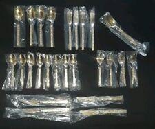 Lifetime Cutlery Mediteranean Gold~25 Piece Flatware Set, Stainless Steel