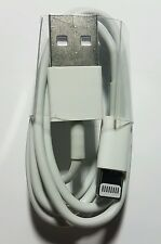 1X Apple USB Lightning 1m Charger Sync Cable iPhone 5 6 6+ iPad mini Air iPod