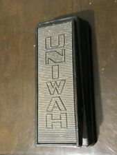 Univox UniWah Wah Wah and Volume Vintage Guitar Effects Pedal Made in Japan