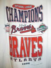 Vintage 1992 Atlanta Braves Team shirt  -  Adult XL