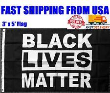 Black Lives Matter Flag 3X5 FT Banner BLM Peace Protest Black Live Matter New