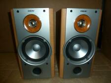 Sony SS-NX1 Speakers-Great Sound-No Front Covers-Full Working Order.