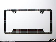VW License Plate Frame (North America) - Mk6 GTI Plaid, Volkswagen, MkVI, Klii