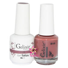 GELIXIR Soak Off Gel Polish Duo Set (Gel + Matching Lacquer) - 129
