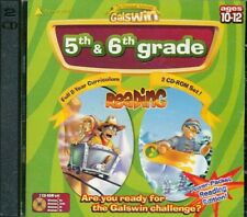 New: 5th and 6th Grade Reading-The Educational Adventures (Galswin) Cd-Rom