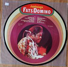 """FATS DOMINO """"Jambalaya"""" Vinyl Picyure Disc"""