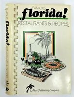 Famous Florida Restaurants & Recipes 1981 Spiral Bound