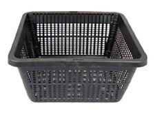 "7"" Square Koi Pond Plant Basket x 2 pcs Value Pack For containing Pond Plants"