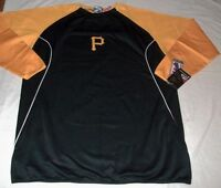 Pittsburgh Pirates Authentic On Field Therma Base Tech Fleece Pullover Two Tone