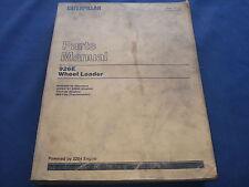 CAT CATERPILLAR 926E WHEEL LOADER PARTS BOOK MANUAL S/N 94Z2209-UP