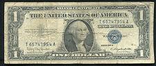 """1957-B $1 ONE DOLLAR SILVER CERTIFICATE """"GUTTER FOLD ERROR"""""""