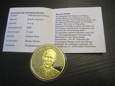 Medaille, The American Presidents, Barack Obama  #1506