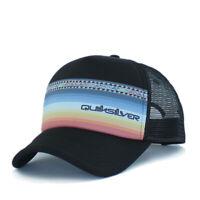 Quiksilver Foam Trucker Hat Mens Baseball Ball Cap Skateboard Adjustable OSFM Or