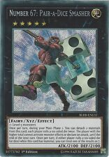 Yu-Gi-Oh: NUMBER 67: PAIR-A-DICE SMASHER - BLRR-EN031 - 1st Edition Secret Rare