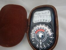 WESTON MASTER III UNIVERSAL EXPOSURE METER MODEL S141 - 3