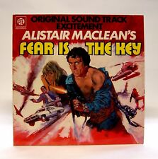 """Fear is the Key"" LP Soundtrack 1972 PYE UK NSPL 18398"