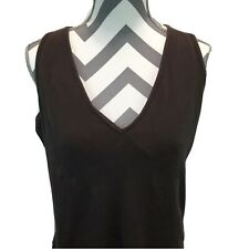 MODA International brown stretch pullover tank  dress sz XL W1
