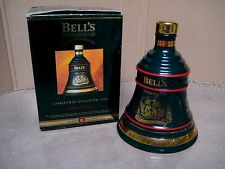 Wade Bells Whisky 1994 Christmas Decanter Boxed~Excellent Boxed,empty contents!
