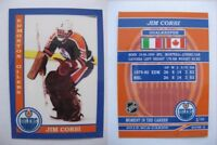 2015 SCA Jim Corsi Edmonton Oilers goalie never issued produced #d/10