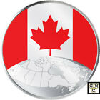2019 ' This is Canada! ' Glow-in-the-Dark  $5 Fine Silver 1/4oz. Coin(18749)NT
