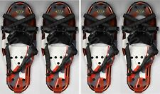 "2 Pairs - New Whitewoods Xlt 27 8.5x27"" Snowshoes - Up to 200 lbs. - Free Mask!"