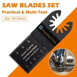 New 26Pcs Oscillating Multi Tool Saw Blades Renovation Plunge Saw Machine