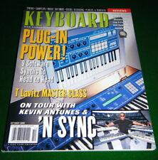 'N Sync Keyboard ist, Kurzweil K2600XS Analogue Minimodular Rev'w, 2000 Magazine