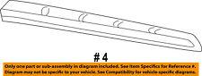FORD OEM 99-16 F-350 Super Duty Front Door-Lower Weatherstrip Seal F81Z2520758AA