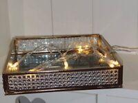 Trinket Tray Jewelery Tray Rhinestone Detail