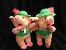 Pigs Plush Stuffed Animal Duo Huggable Soft Toys Boy Girl Couple Gift Present