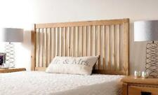Solid Pine Headboard in an Oak, White or Chocolate finish -  CLEARANCE PRICES