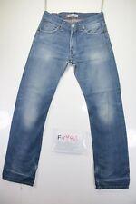 Levis 506 Standard (Cod. F1996)Tg46 W32 L34 jeans usato Vita Alta vintage