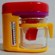 STATIONERY VTG 80's COFEE MACHINE PLASTIC PENCIL SHARPENER UNUSED IA
