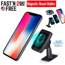 360° Strong Magnetic Car Phone Mount Holder Stand For Cell Phone GPS iPhone US