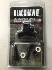 "BLACKHAWK! Lok Down Bolt Action Machine Screw Set 1"" Sling 70SW01BK"