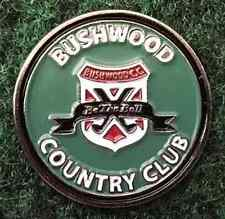 Caddyshack Bush Wood Country Club Golf Ball Marker