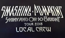 Smashing Pumpkins 2018 Tour Local Crew Shirt! Rare! Unworn! Unwashed! X-Large