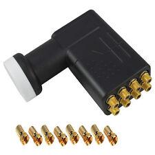 SKY Octo LNB DIGITAL VER TV UHD 0,1db 8 Conexiones Conector De Oro