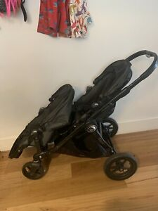 baby jogger city select double Pram With Bassinet