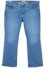 Levi s Plus 311 modelado delgados elastizados Jeans Damas Denim Azul Talla 48 42