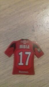 magnet aimant maillot de foot MBIA (rennes) comme neuf