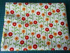 Épuisé rhtf 2008 Mary Engelbreit pour Moda la Caroler patchwork tissu blanc 1/2mtr