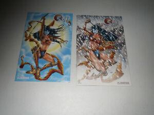 Shi: Pandora's Box #1/2, #1 > 2003 Avatar (2 Book Lot) VF > B&W