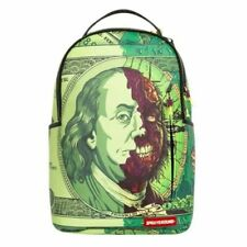 AUTHENTIC SPRAYGROUND BACKPACK BEN ZOMBIE FRANKLIN SCHOOL BOOK BAG -LIMITED-